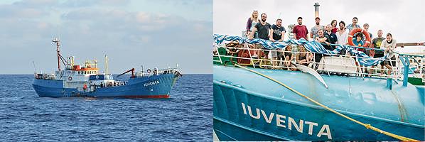 Juventa Schiff Jugend rettet klein crew.JPG