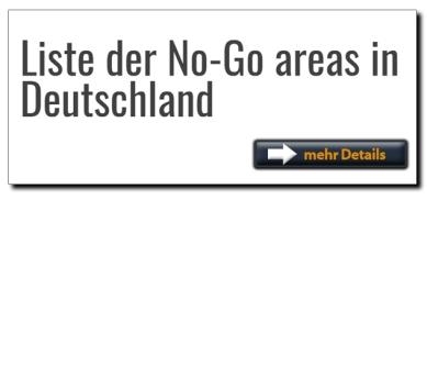 button Liste der No go areas Deutschland