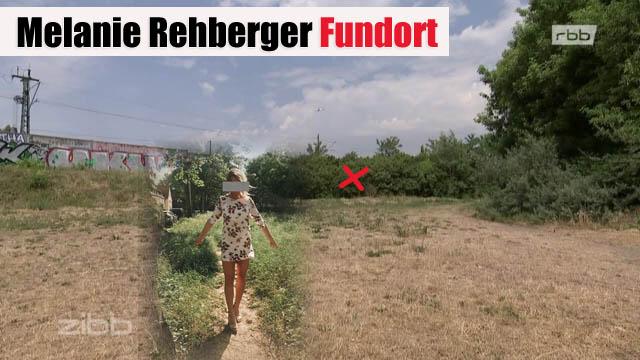 Melanie Rehberger Fundort