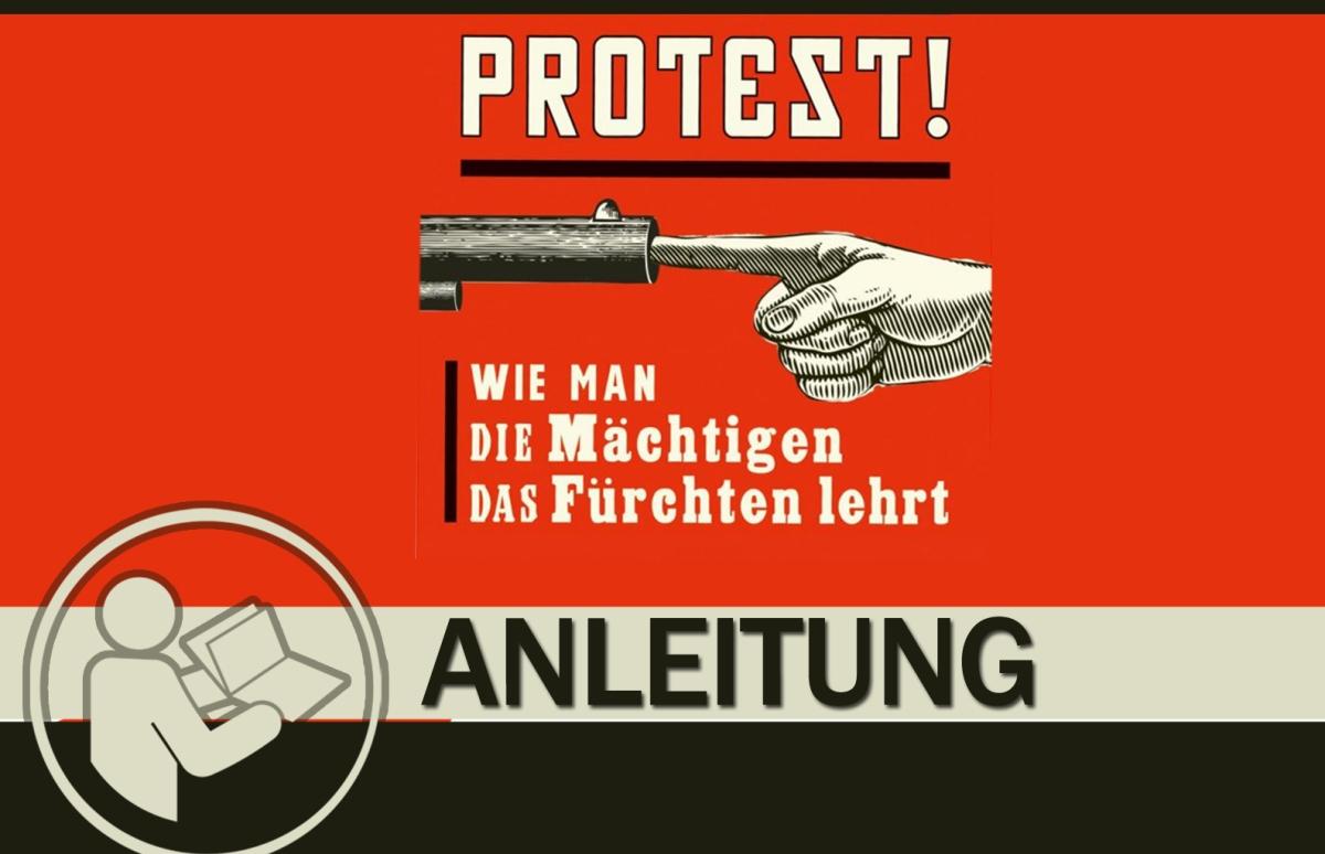 Anleitung für erfolgreichen Protest